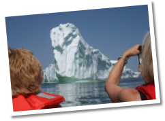 Skipper Jim's Boat Tours, Iceberg