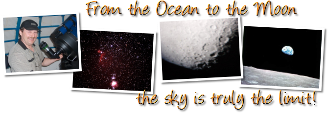 From the Ocean to the Moon the sky is truly the limit!